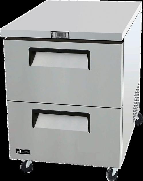 2 Drawer Underounter Freezer