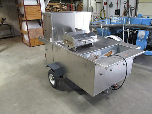 2014 Hot Dog Trailer