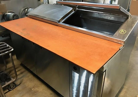 "Delfield 68"" pizza prep table"