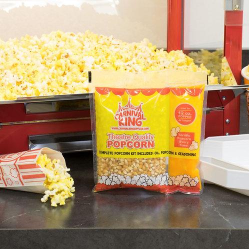 Carnival King All-In-One Popcorn Kit for 12 oz. to 14 oz. Popper - 24 / Case