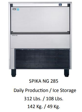 SPIKA NG285 - UNDER COUNTER ICE MAKER