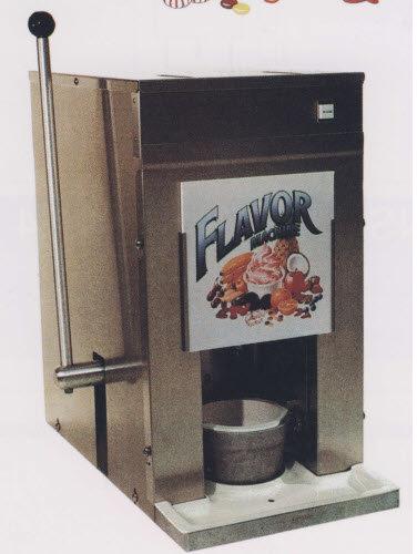 Flavor machine - ice cream and yogurt blender - DEMO MODEL