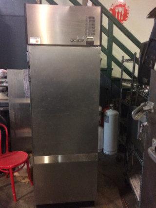 Foster single door refrigerator