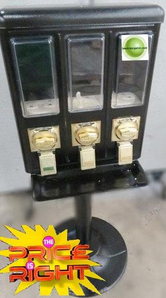 3 Head candy vending machine