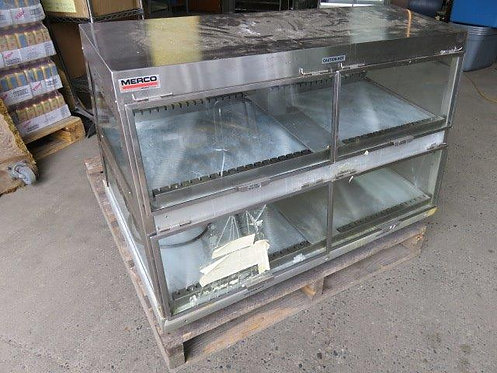 Merco Countertop heated display case