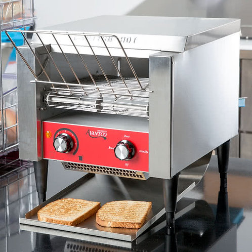 "Conveyor Toaster with 3"" Bagel Size Opening 120V"