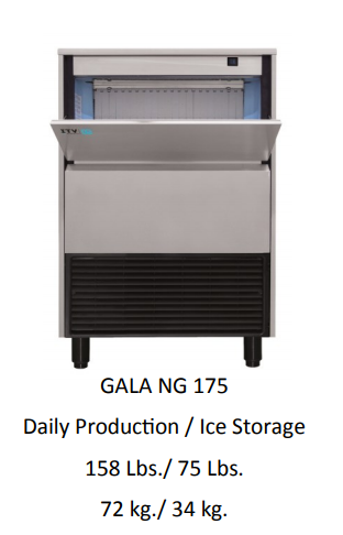 GALA NG 175A SELF CONTAINED ICE MAKER