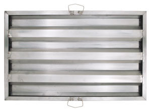 """16""""W x 25"""" T STAINLESS STEEL HOOD FILTER"""