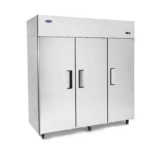 3 door upright freezer - TOP MOUNT