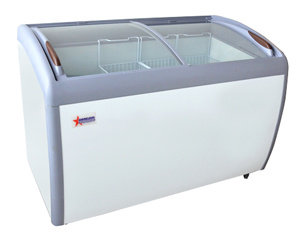 "ICE CREAM DISPLAY FREEZER - 49"" WIDE"