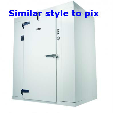 Walk in cooler - various sizes - new walls and door - use modular refrigeration