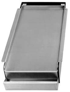 "11""x23"" Add-On Griddle - Fits over two open buners"