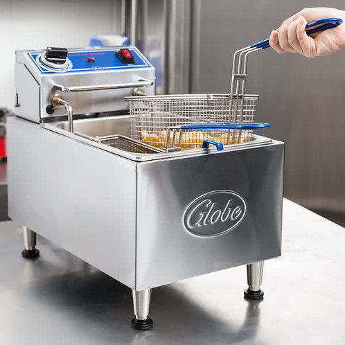 Globe 10 lb. Electric Countertop Fryer