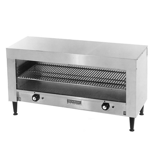 "24"" x 13"" x 19"" Cheese Melter - 120 VOLTS"