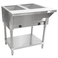 HOT FOOD TABLES - GAS OR PROPANE - 4 SIZES TO CHOOSE FROM