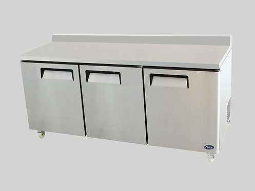 "72"" THREE DOOR UNDERCOUNTER-REFRIGERATOR"