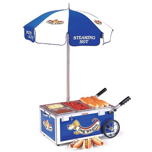 Mini Hot Dog Cart - 120V - comes black or blue colors