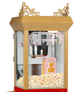 GOLD MEDAL 6 OZ ANTIQUIE LOOK - POPCORN MACHINE