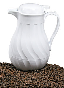CHOICE 42 oz. SWIRL THERMAL COFFEE SERVER