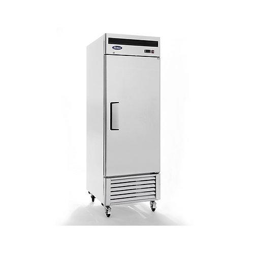 Solid door refrigerator - bottom mount