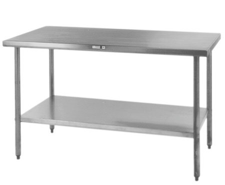 ALL STAINLESS STEEL TABLES - SEE ALL SIX SIZES