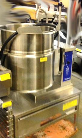 Cleveland 12 gallon steam kettle