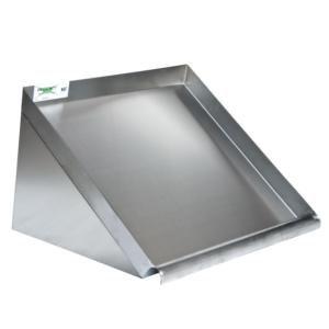 "63"" Wall Mounted Slanted Rack Shelf - glass or dishwasher trays"