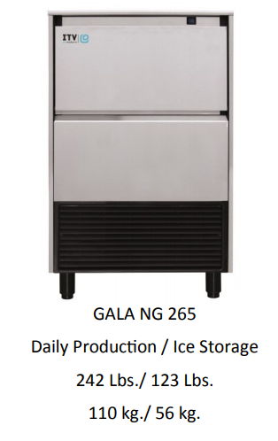 GALA NG265A SELF CONTAINED ICE MACHINE