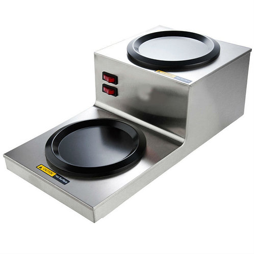 Step Up Double Burner Decanter Warmer