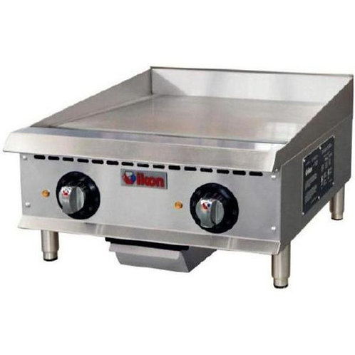 "Electric 24"" Griddle - 208-240V, Single or Three Phase"