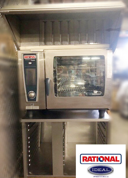 Rational combi oven - with hood system