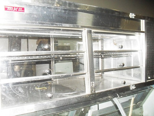 """MKE 56"""" LONG REFRIGERATED COUNTER TOP DISPLAY CASE"""
