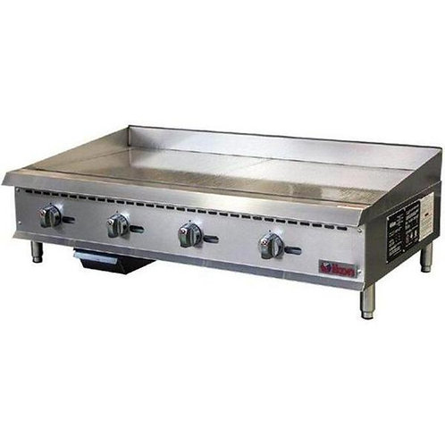 """48 Natural Gas/Propane 48"""" Thermostatic Griddle"""