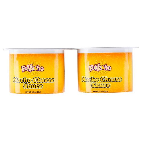 3.5 oz. Nacho Cheese Sauce Portion Pack - 48/Case