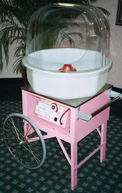 GOLD MEDAL PINK FLOSS CART FOR COTTON CANDY MACHINE