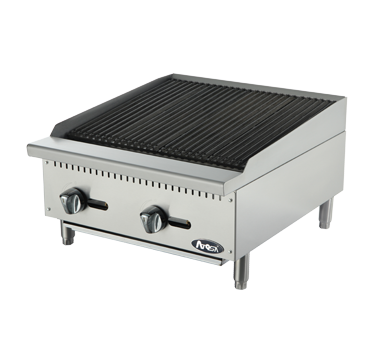 "GAS CHARBROILER - CHAR ROCK -24"" WIDE"