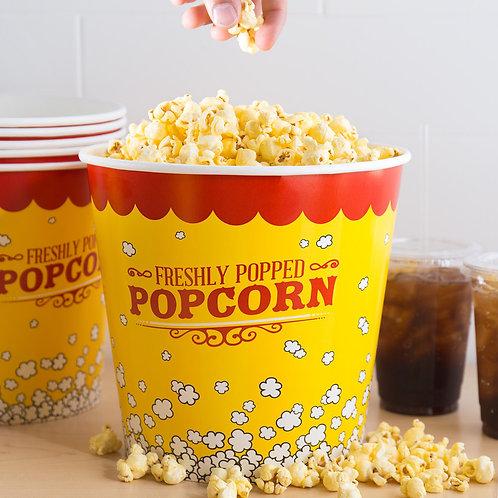 Carnival King 130 oz. Popcorn Bucket - 150 / Case