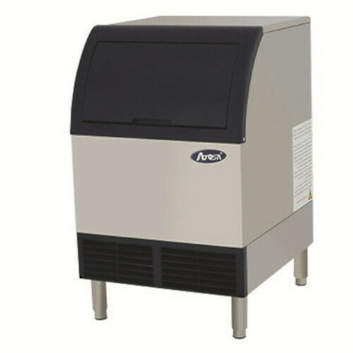 140 lb Cube-Style Air Cooled Ice Maker with Bin