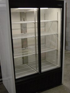 Beverage-Air double door cooler