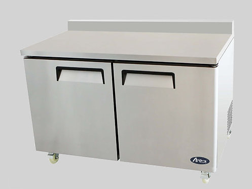 "60"" TWO BIG DOOR UNDERCOUNTER-FREEZER"