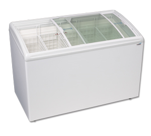 CURVED LID DISPLAY FREEZER 11.4 Cu.ft