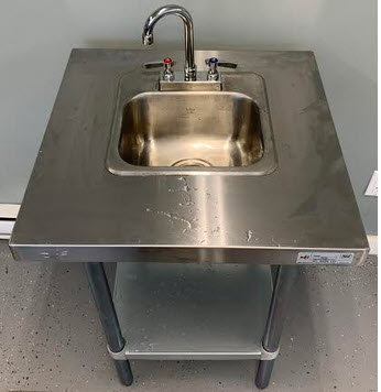 Hand Hygiene Portable S.S. Sinks available - brand new -