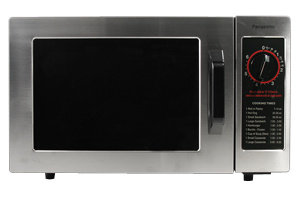 PANASONIC NSF 1000 WATT COMMERCIAL MICROWAVE OVEN WITH DIAL TIMER 120V