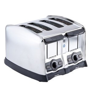 "Proctor Silex 24850 4 Slice Commercial Toaster with 1 1/2"" Wide Slots"