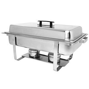 8 qt. ECONOMY CHAFER STAINLESS CHAFING DISH
