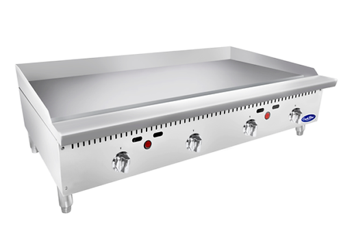 48-LP Heavy Duty Stainless Steel 48-Inch Manual Griddle