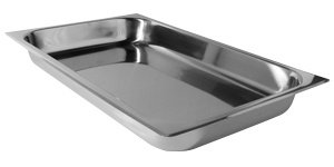 """FULL SIZE FOOD PAN FOR BUFFET ESSENTIALS EMPIRE CHAFERS - 2"""" DEEP"""