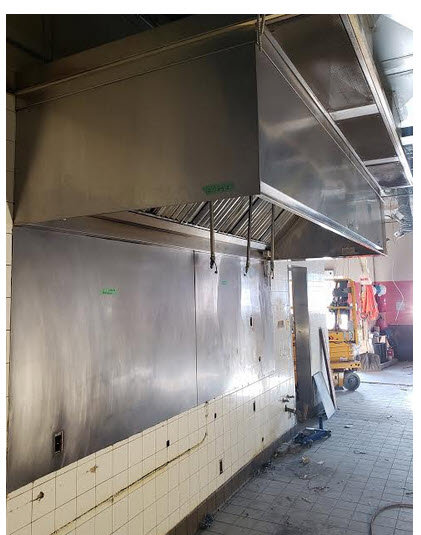 Grease Ventilation Hood 12' SYSTEM