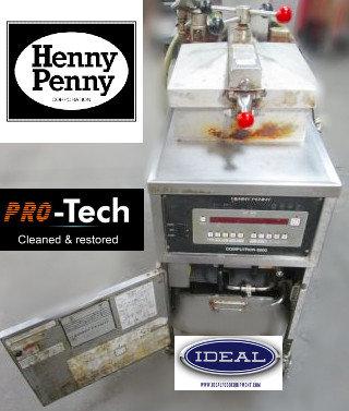 HennyPenny Electric Pressure Fryer - make great chicken -