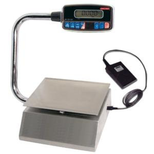 10 lb. Digital Pizza Controller Portion Scale with Foot Tare Pedal